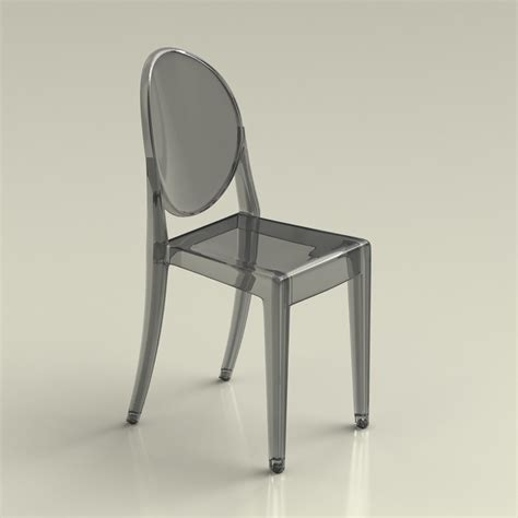 chaise ée 60 3d ghost chair phillipe starck high quality