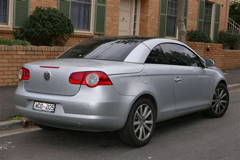 Eos Volkswagen Convertible by 2007 Volkswagen Eos 3 2l Convertible V6 Automated Manual