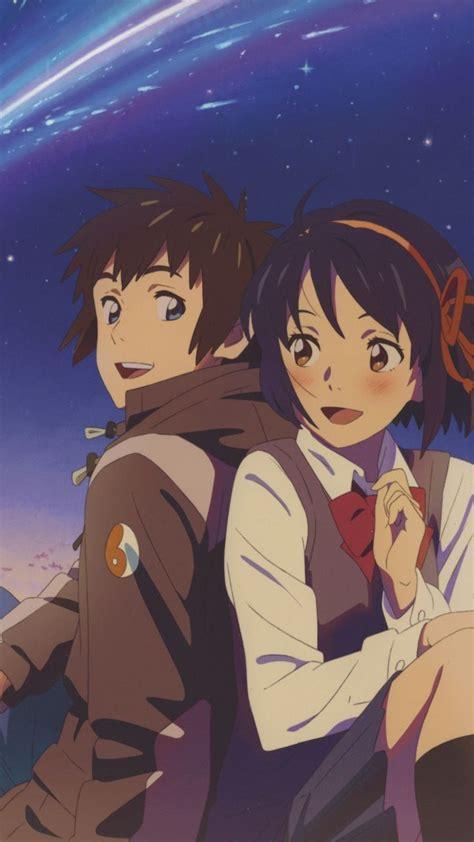 cute couple mitsuha miyamizu taki tachibana