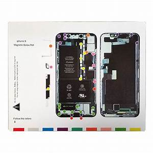 Iphone X 4 7 U0026quot  Magnetic Screw Chart Mat Repair Professional