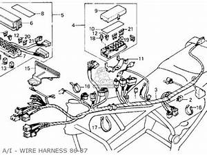 honda gl1200i goldwing interstate 1987 h usa california With goldwing audio wiring diagram on honda goldwing 1800 engine diagram