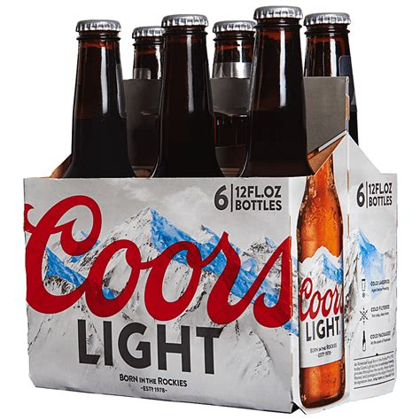 How Much Is In Coors Light by How Much Does A 12 Oz Coors Light