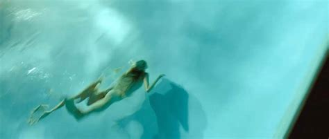 Isabel Lucas Nude In The Swimming Pool From Knight Of