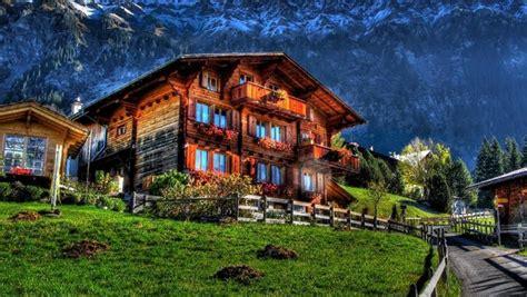 mobilier chambre design chalet suisse la beauté simple du bois