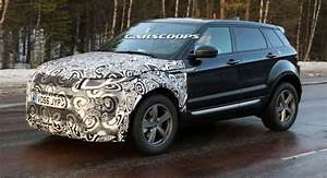 Land Rover Evoque 2018 : second gen 2018 range rover evoque mule keeps its secrets hidden ~ Medecine-chirurgie-esthetiques.com Avis de Voitures