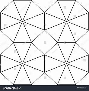 Octagon Pattern Stock Vector 462882181 - Shutterstock
