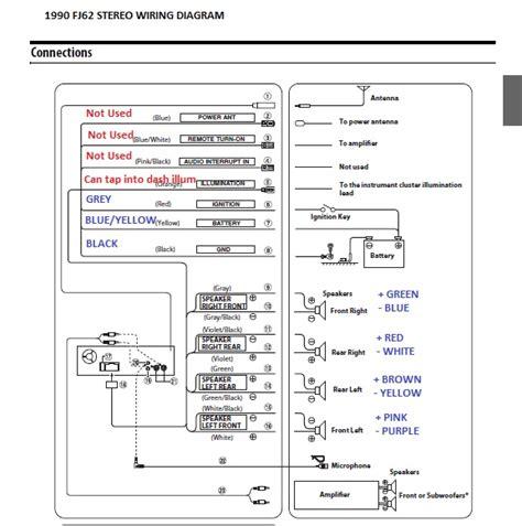 Nissan Vanette Wiring Diagram Radio by 60 Series Stereo Wiring Ih8mud Forum