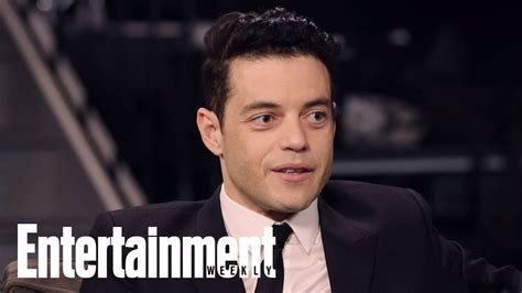 'No Time To Die' Cast On Rami Malek's Villain, Daniel ...