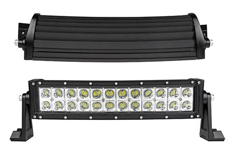 14 quot curved road led light bar 72w 5 040 lumens