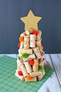 Diy, Wine, Cork, Christmas, Trees, Craft