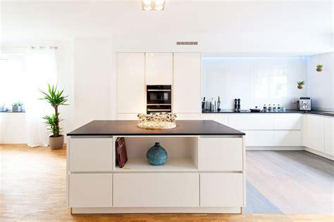 eckschrank küche weiß moderne hochglanz kueche weiss kochinsel neff 008 home