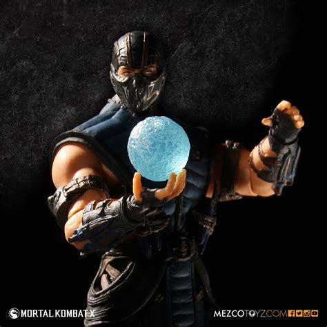 "Mortal Kombat X SubZero 4"" Figure  Mezco Toyz"