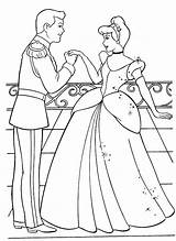 Coloring Pages Sheets Printable Activity Cinderella Ve sketch template