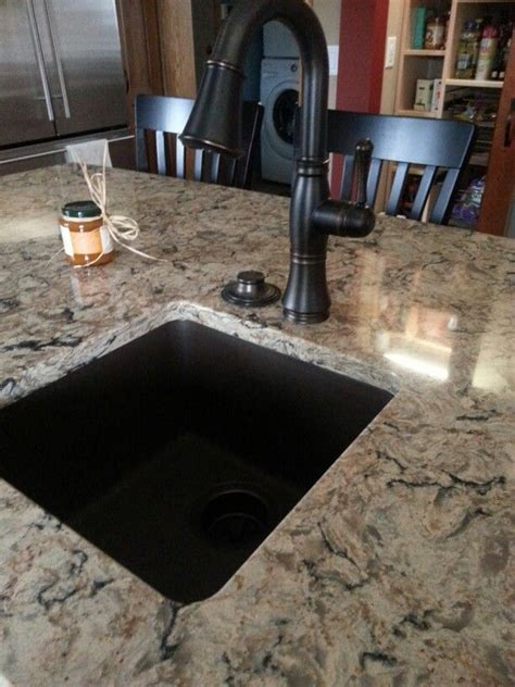 e granite kitchen sinks cambria bradshaw with rubbed bronze faucet and e 3536