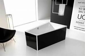 Freistehende Badewanne Schwarz : hoesch capri glasverkleidung f r freistehende badewanne 6195 schwarz ~ Sanjose-hotels-ca.com Haus und Dekorationen