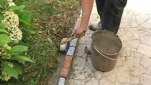 Bordure En Ciment : refaire les bordures d all e de jardin ~ Premium-room.com Idées de Décoration