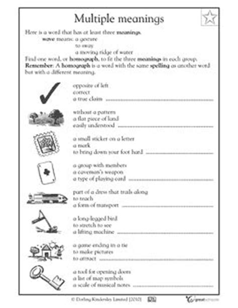 18 best images of 2nd grade reading worksheets sequencing multiple meaning words worksheet 2nd