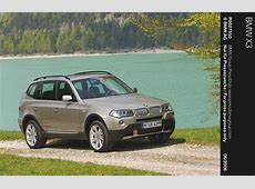 BMW X3 E83 specs & photos 2007, 2008, 2009, 2010
