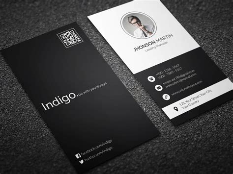 vertical business card design minimal vertical business card by remon92 on deviantart
