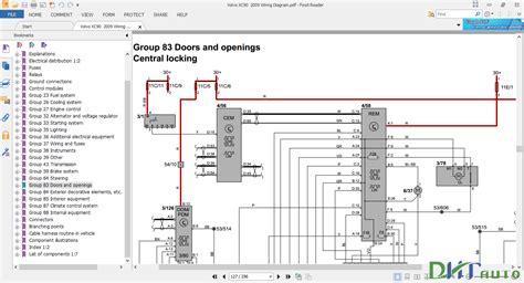 Volvo Wiring Diagram Automotive Library