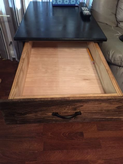 ana white smaller dog crate   drawer diy projects