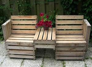 10 simple diy pallet bench designs wooden pallet furniture for Easy to make furniture ideas