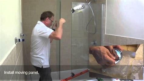 shower door installation 1