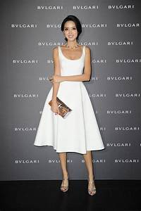 Zhang Zilin sparkles at Bulgari FW 2014 Collection Launch ...