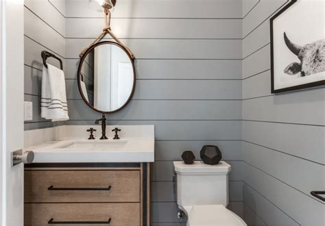 powder room ideas  transform  small  bath