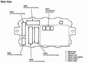 98 Acura Fuse Box