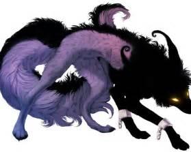 Black Anime Wolf Demon