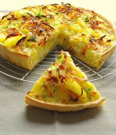 tarte aux pommes de terre et au brie paperblog