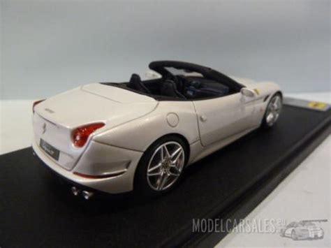 In 2012 a lighter, slightly more powerful variant, the california 30 was. Ferrari California T Spider White Bianco Italia/nero 1:43 LS434D LOOKSMART diecast model car ...