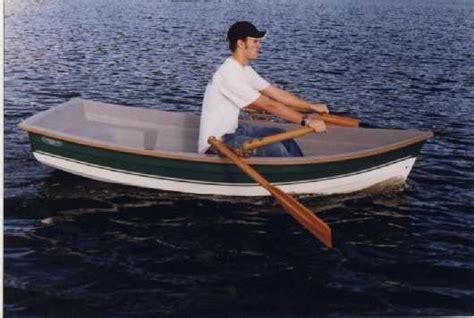 Sculling Oar Boat by Research Development Gig Harbor Boat Works
