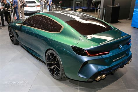 2020 Bmw M8 Gran Coupe Shows Gaping Air Intakes