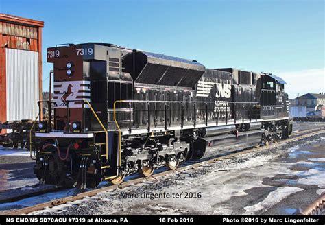 cicil top ns ns locomotive detail photos emd ns sd70acu 7319