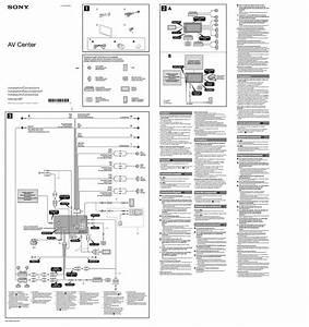Sony Xnv 660bt Wiring Diagram