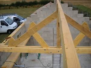 Ferme De Charpente : prix ferme charpente bois charpente maison ossature bois ~ Melissatoandfro.com Idées de Décoration