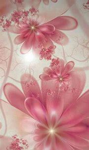 Pinkish Fractal   Flower wallpaper, Vintage flowers ...