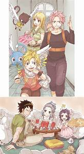 Nalu and Gale reunion by Krystal-chah on DeviantArt
