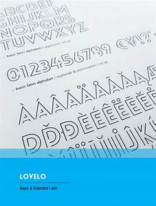 Lovelo Line Light Font Download Fundschau Typo Tipp Zum Wochenstart