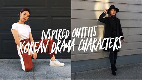 Korean Drama Characters Inspired Outfits | Menu0026#39;s Edition! - YouTube