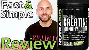 Nutrabio  100  Pure Creatine Monohydrate Supplement Review