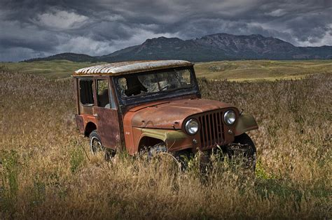vintage willys jeep abandoned vintage willy jeep photograph by randall nyhof
