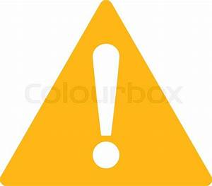 Warning icon from Primitive Set. This isolated flat symbol ...