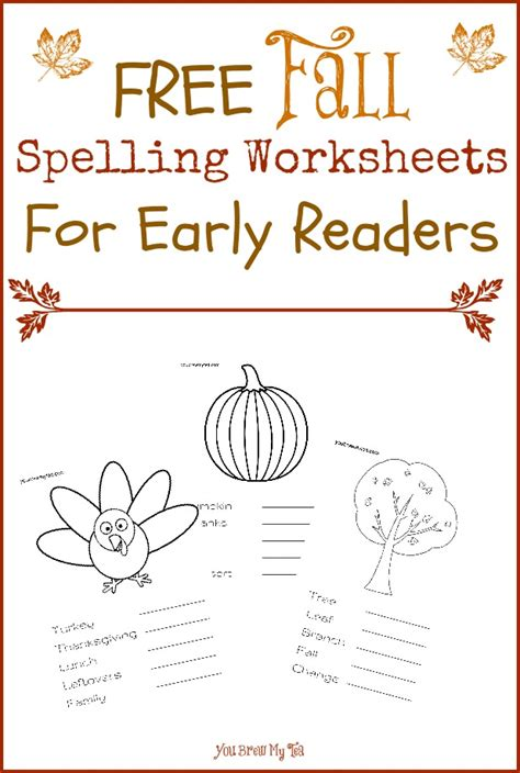 free fall spelling worksheets for early readers free