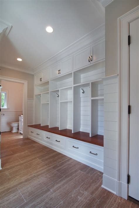 mud room lockers traditional laundry room blue water