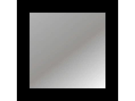miroir 40x40 cm coloris noir