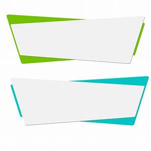 Vector Origami Banners Set  Banner Vector  Template  Color