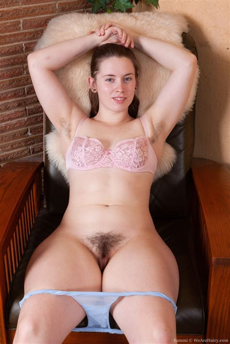 Sammi Strips Naked On Her Armchair